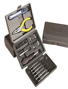 ferramenta caixa de hardware de plástico (23 peças)