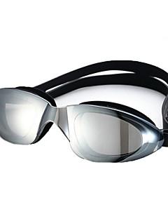 No плавательные очки Универсальные Регулируемый размер / Фиксирующий шнурок Полиуретан Поликарбонат черный / синий черный / синий
