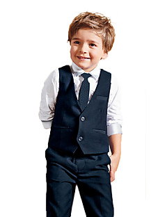 Boy's All Seasons Inelastic Thin Long Sleeve Clothing Sets (Cotton Blends)