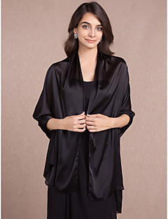Women's Wrap Shawls Sleeveless Taffeta  More Colors Wedding / Party/Evening / Office & Career /