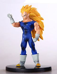 Dragon Ball espírito birgitta bomba Super Saiyan figuras conjunto anime de ação brinquedo modelo
