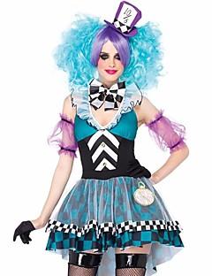 Cosplay Kostýmy Pohádkové Filmové kostýmy Růžová Modrá Patchwork Šaty Halloween Karneval Dámské
