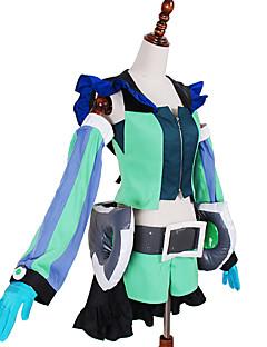 קיבל השראה מ Macross Frontier אחרים אנימה תחפושות Cosplay חליפות קוספליי טלאיםוסט / מכנסיים קצרים / שרוולים / אביזרי מותניים / חגורה /