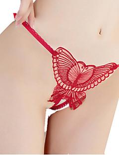 Nylon / Rayon-Vrouw G-string/tanga Slips-Sexy Jacquard