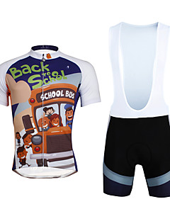 6c11ba1bdc9d ILPALADINO Αθλητική φανέλα και σορτς ποδηλασίας Ανδρικά Γιούνισεξ  Κοντομάνικο ΠοδήλατοΣορτσάκι με τιράντες Κοντά Παντελονάκια Αθλητική