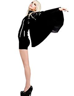 Kostüme Mehre Kostüme Karneval / Silvester Schwarz einfarbig Pelz Gymnastikanzug/Einteiler