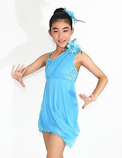 Ballet Dancewear Adults' Children's Sequined Dropping Ruffles Lyrical Dress