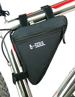 Bike BagBike Frame Bag Waterproof Zipper / Moistureproof / Shockproof / Wearable Bicycle Bag Polyester / PVC / Terylene Cycle Bag