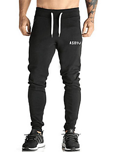 Men's Running Pants/Trousers/Overtrousers Bottoms Breathable Wearable Sweat-wicking Soft Spring Summer Fall/AutumnYoga Exercise & Fitness