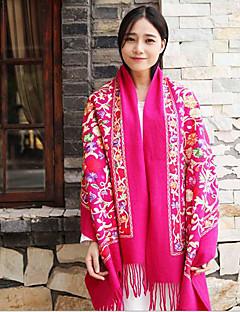 Women Wool Scarf,Casual Rectangle