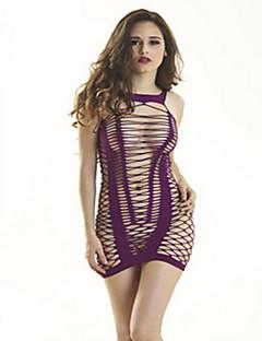 LIERMEI® Nylon Chemises & Nachthemden-50097#