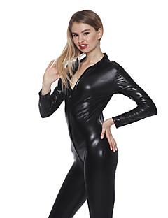 Cosplay Kostýmy / Kostým na Večírek cosplay Festival/Svátek Halloweenské kostýmy Černá Jednobarevné Leotard/Kostýmový overalHalloween /