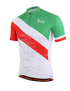 Miloto® Cycling Jersey Women's / Men's / Kid's / Unisex Short Sleeve BikeBreathable / Quick Dry / Front Zipper / YKK Zipper / Reflective