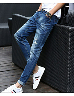 Men's Jeans Pants Solid