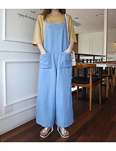 DamenAusgehen Street Schick einfarbig Gurt Ärmellos Baumwolle Micro-elastisch Sommer