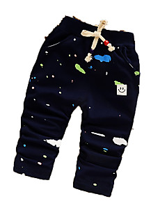 Baby Casual/Daily Print Pants,Cotton Fall Blue / Red / Yellow / Gray