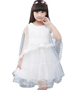 Dívka je Běžné/Denní Jednobarevné Léto Šaty Bavlna / Další Růžová / Fialová / Bílá