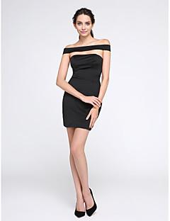 TS Couture® Cocktail / Festa di fine anno scolastico Vestito A tubino Drappeggiata Corto / mini Jersey con