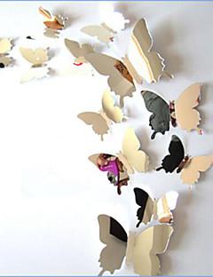 Animales Pegatinas de pared Calcomanías 3D para Pared / Adhesivos de Pared Espejo Calcomanías Decorativas de Pared / Calcomanías de Bodas,
