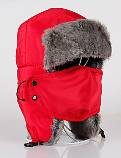 Chapka Hat Fur Hat Ski Hat Pollution Protection Mask Women's Men's Unisex Thermal / Warm Snowboard Cotton ClassicSkiing Camping / Hiking