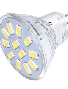 3 GU4(MR11) Spot LED MR11 12 SMD 5733 250 lm Blanc Chaud / Blanc Froid Décorative 9-30 V 1 pièce