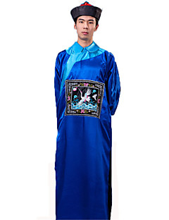 Disfraces Zombi Halloween Rojo / Negro / Amarillo / Azul Un Color Poliéster Leotardo/Pijama Mono / Sombrero