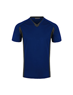 Running T-shirt / Sweatshirt men's Short Sleeve Breathable / Quick Dry / Sweat-wicking / Compression Nylon
