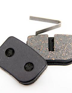 GEKOO Cycling Disc Brake Semimetal Pads for AOBANG,BOLI,AONUOSAI