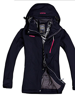 Hiking Tops Women's Waterproof / Breathable / Insulated / Rain-Proof / Wearable / Thermal / Warm Spring Nylon / TeryleneGreen / Black /
