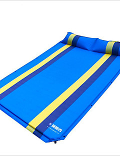 192*130*3CM Double Flat Folded Interoperable Automatic Blow-up Lilo Outdoor Dampproof Mat 1 Set