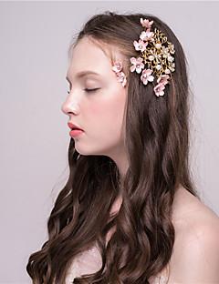 Damen Künstliche Perle Kopfschmuck-Hochzeit Haarclip 1 Stück