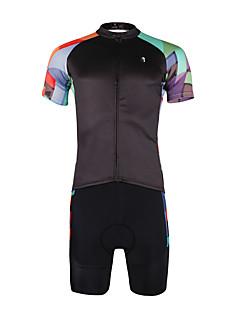 ILPALADINO Cyklodres a kraťasy Pánské Krátké rukávy Jezdit na kole Dres Sady oblečeníRychleschnoucí Odolný vůči UV záření Prodyšné