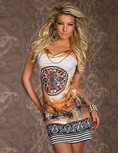 Women's Print Dress,Sexy/Party