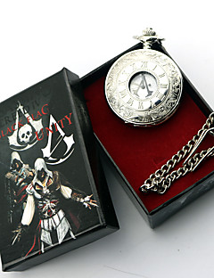 Jewelry Inspired by Assassin's Creed Conner Anime/ Video Games Cosplay Accessories Necklace Silver Alloy Male / Female