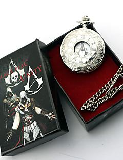 Smykker Inspireret af Assassin's Creed Conner Anime / Videospil Cosplay Tilbehør Halskæde Sølv Legering Mand / Kvindelig