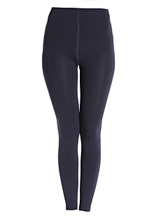Damer Ensfarget Tights,Polyester Fleece
