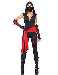 Costumes Movie & TV Theme Costumes Halloween Black Patchwork Terylene Leotard/Onesie / More Accessories