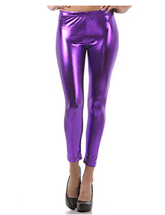 Women Solid Color LeggingPolyester