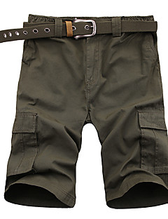 Outdoor Men's Shorts Camping / Hiking Breathable / Wearable Green / Black-Sports-M / L / XL / XXL