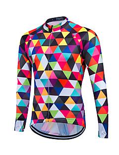 Fastcute Camisa para Ciclismo Homens Manga Longa Moto Pulôver Camisa/Roupas Para Esporte Blusas Térmico/Quente Secagem Rápida Zíper