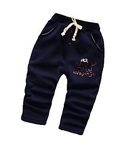 Baby Hose-Lässig/Alltäglich Druck Baumwolle Winter Blau / Lila / Rot / Grau