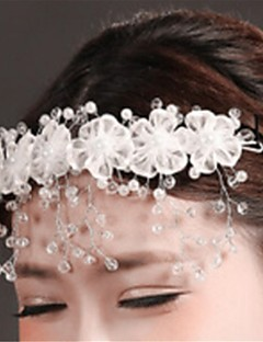 Women's Crystal / Imitation Pearl / Chiffon Headpiece-Wedding / Special Occasion Headbands 1 Piece