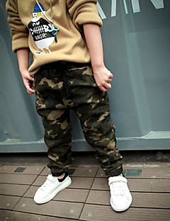 Boy's Casual/Daily Patchwork ShortsCotton Spring / Fall Green