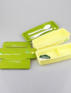 yooyee ebéd készlet műanyag tartály kivehető elválasztó