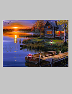 Landschap Canvas Afdrukken Eén paneel Klaar te hangen , Verticaal