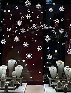 Noël / Bande dessinée Stickers muraux Stickers avion Stickers muraux décoratifs / Stickers mariage,PVC Matériel Amovible / Repositionable