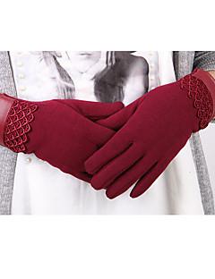 kvinder bomuld fingerspidser håndled lengthsolid arbejde vinter