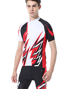 Sports Cycling Jersey with Shorts Men's Short Sleeve Bike Breathable / Compression / Comfortable / Sunscreen Clothing Sets/Suits