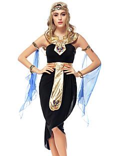 הופעות תלבושות בגדי ריקוד נשים ביצועים פוליאסטר רקמה 6 חלקים בלי שרוולים טבעי שמלות / Neckwear / צמיד / אביזרים לשיער / חגורה 99CM
