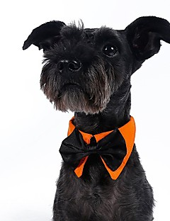 Gentlman Style Black Bow Tie for Pets Dogs (Assorted Sizes and Colours)